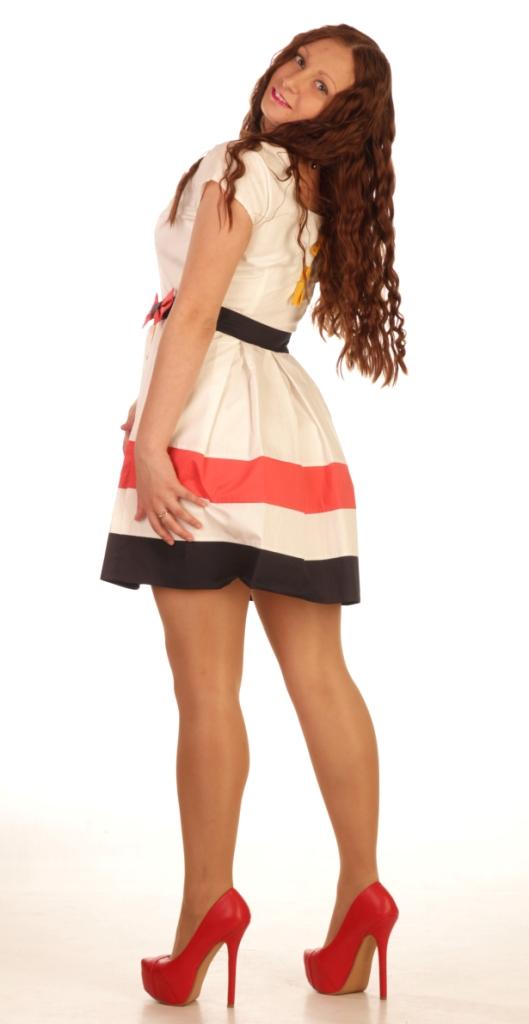 Длинные короткие вечерние платья для