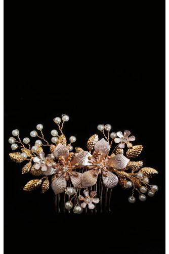 Гребешок для волос с цветами в Киеве - Фото 1