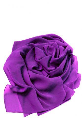 Шифоновая шаль фиолетовая в Киеве - Фото 1