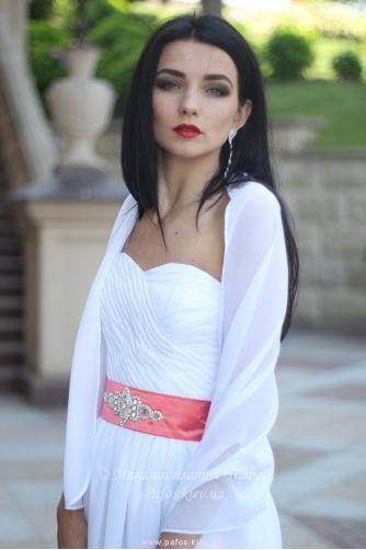 Шаль на плечи белая в Киеве - Фото 3