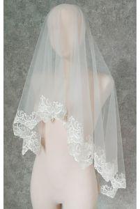 Фата с вышивкой орнамент фото