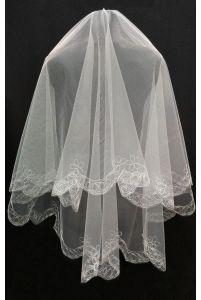 Фата свадебная из фатина фото