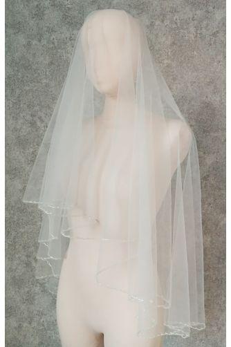 Свадебная фата с бисером в Киеве - Фото 1