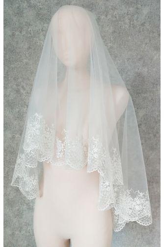 Свадебная фата с вышивкой в Киеве - Фото 1