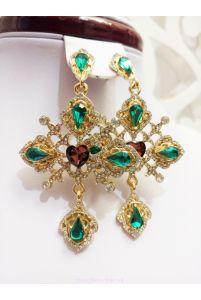 Серьги в стиле Dolce & Gabbana фото