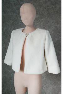 Свадебная шубка с рукавом фото
