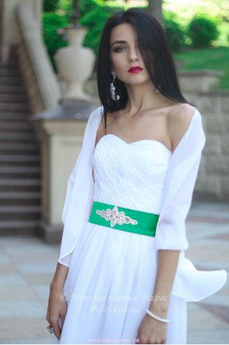 Шаль на плечи белая в Киеве - Фото 1