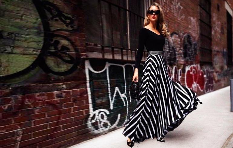 С чем носить длинные юбки в 2020 году?