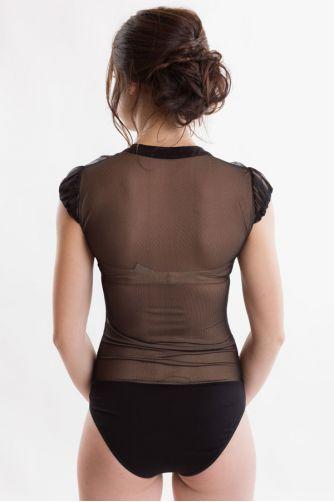 Блузка боди черная в Киеве - Фото 2