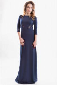 Красивое длинное платье на каждый день фото