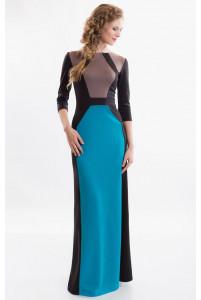 Повседневное платье с длинным рукавом фото