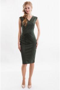Стильное деловое платье фото