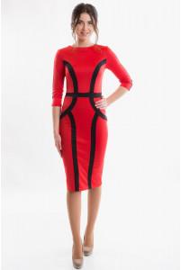 Женское деловое платье фото