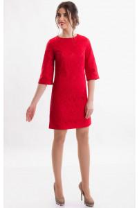 Коктейльное платье красное фото