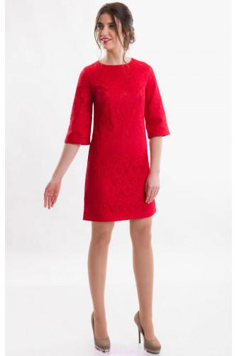 Коктейльное платье красное в Киеве - Фото 1