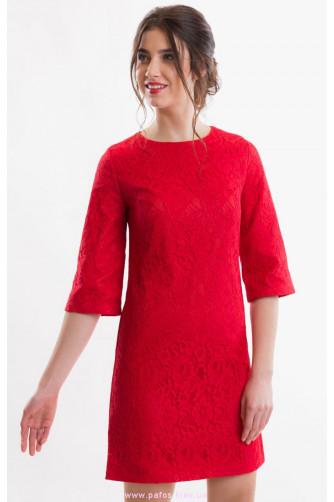 Коктейльное платье красное в Киеве - Фото 2
