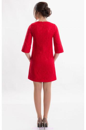 Коктейльное платье красное в Киеве - Фото 3