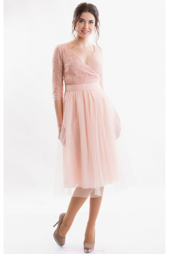 Стильное коктейльное платье миди   Интернет магазин Пафос e002d05ac79