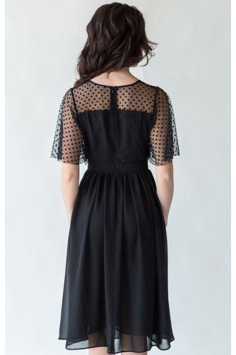 Коктейльное платье черное в Киеве - Фото 2