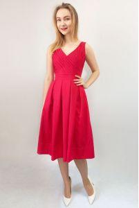 Стильное коктейльное платье фото