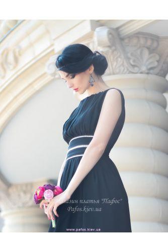 Черное длинное платье в Киеве - Фото 4
