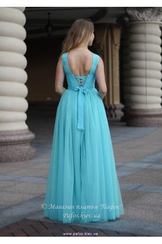 Голубое корсетное платье в Киеве - Фото 4