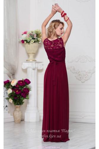 Модное платье марсала в Киеве - Фото 5
