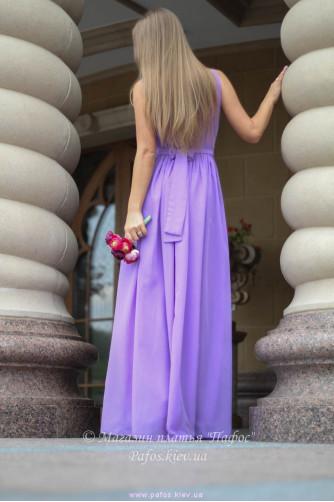 Сиреневое платье в греческом стиле в Киеве - Фото 4