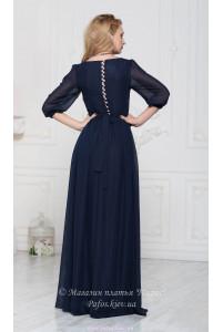 Элегантное платье в пол фото