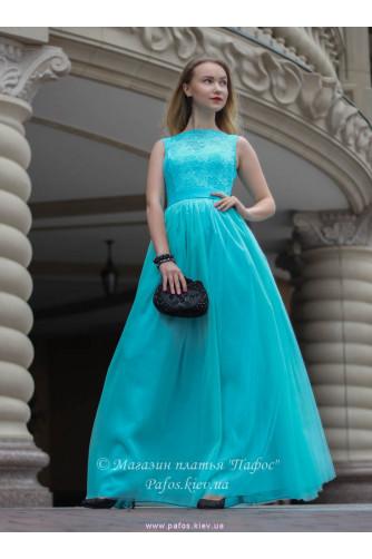 Голубое корсетное платье в Киеве - Фото 1
