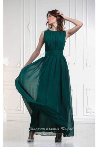 Изумрудное платье купить в украине