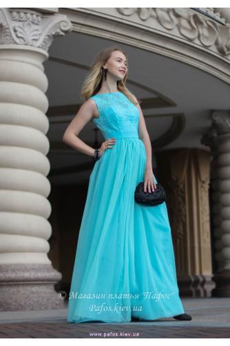 Голубое корсетное платье в Киеве - Фото 2