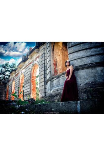 Корсетное платье марсала в Киеве - Фото 2