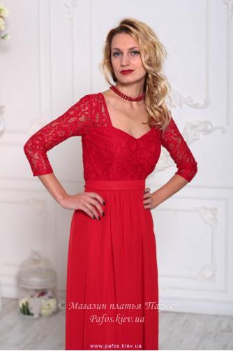 Красивое красное платье в Киеве - Фото 2