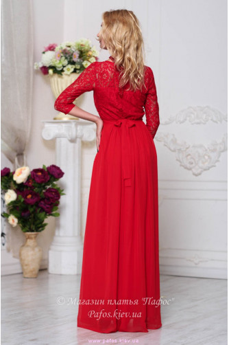 Красивое красное платье в Киеве - Фото 3