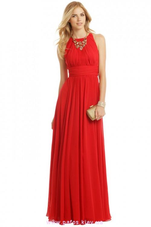 Красное платье цена украина