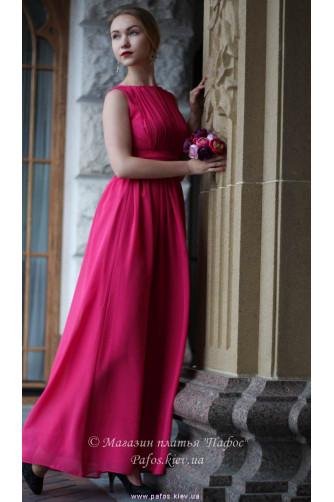 Малиновое платье в Киеве - Фото 3