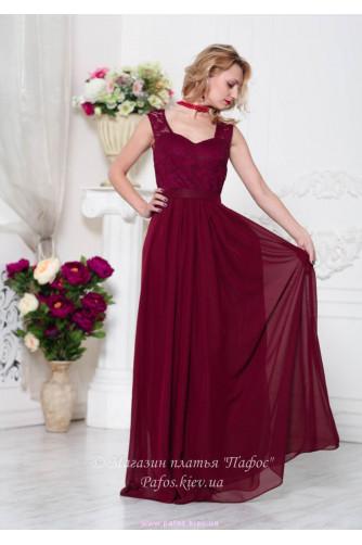 Модное платье марсала в Киеве - Фото 2