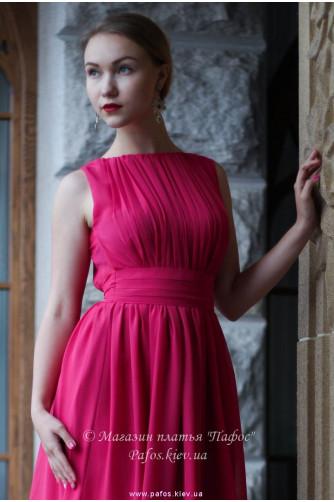Малиновое платье в Киеве - Фото 2