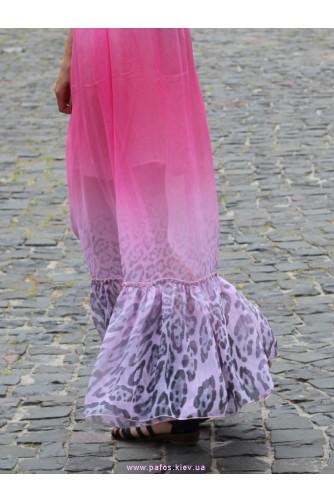 Леопардовое розовое в Киеве - Фото 4