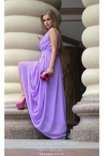 Сиреневое платье в греческом стиле в Киеве - Фото 2