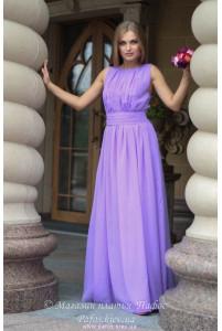 Сиреневое платье в греческом стиле фото