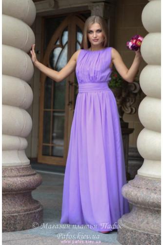 Сиреневое платье в греческом стиле в Киеве - Фото 1