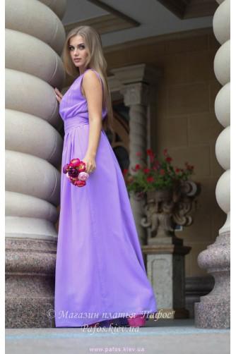 Сиреневое платье в греческом стиле в Киеве - Фото 3