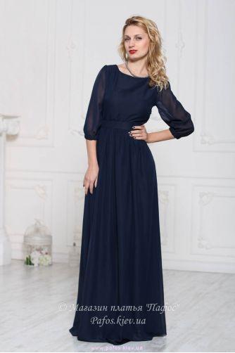 Элегантное платье в пол в Киеве - Фото 2