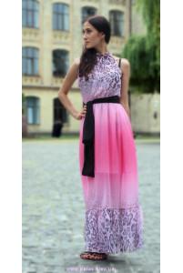 Леопардовое розовое фото