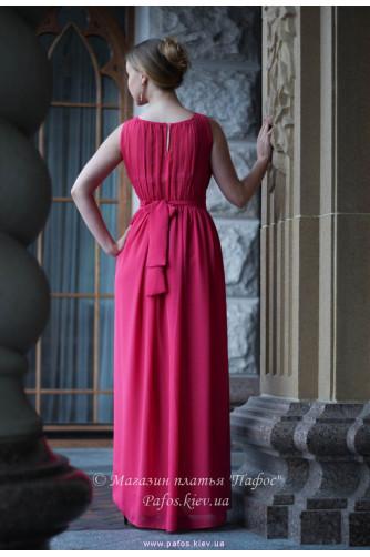 Малиновое платье в Киеве - Фото 5