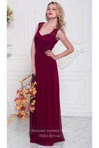Модное платье марсала фото