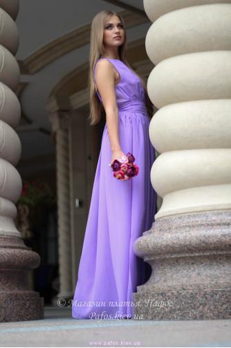 Сиреневое платье в греческом стиле в Киеве - Фото 5