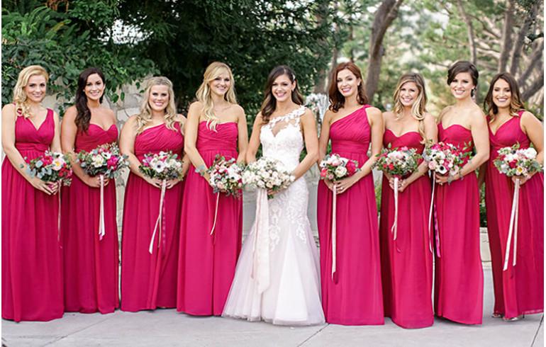 Платья дружек на свадьбу